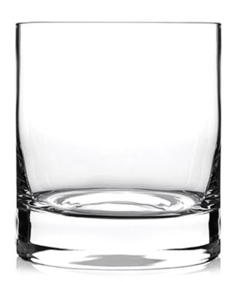 Luigi Bormioli Glassware Set of 4 Classico Double Old Fashioned Glasses