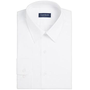 Club Room Men's Classic/Regular-Fit Solid Dress Shirt