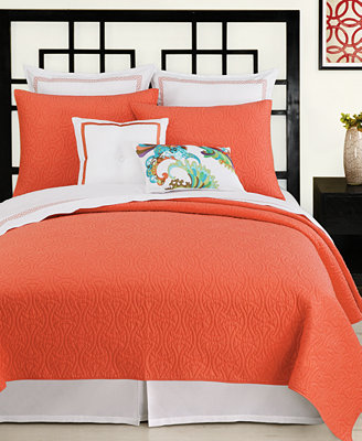 Trina Turk Bedding, Santorini Coral Collection - Bedding ...