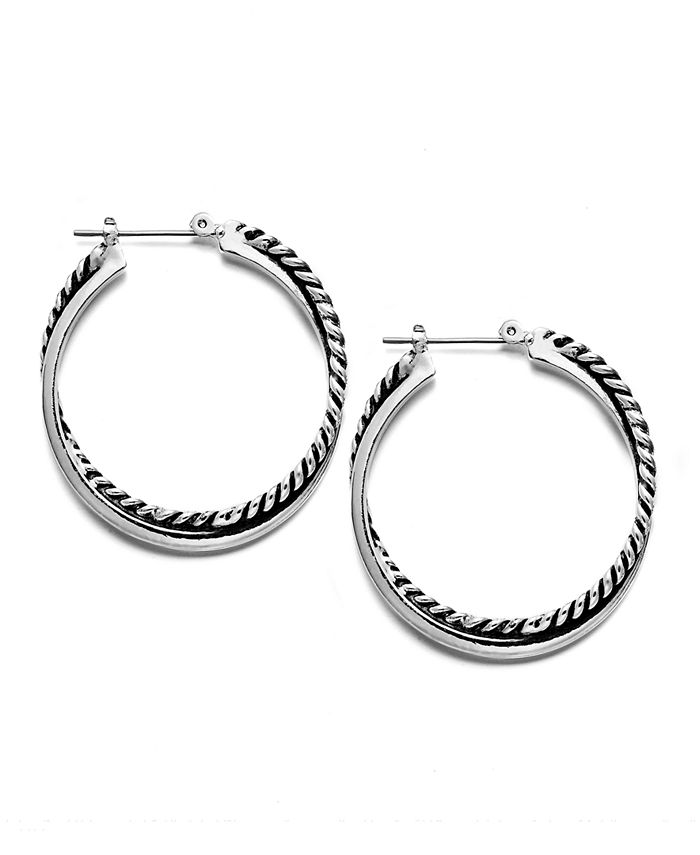 Lauren Ralph Lauren - Twisted Hoop Earrings