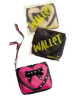 Teen Vogue, Ziparound Wallet. Web ID: 623252