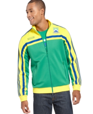 adidas Jacket, Brazil Track Jacket