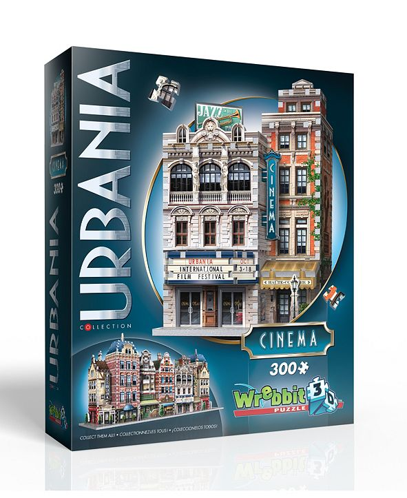 Wrebit Wrebbit - Urbania Collection Cinema 300 Piece 3D Puzzle