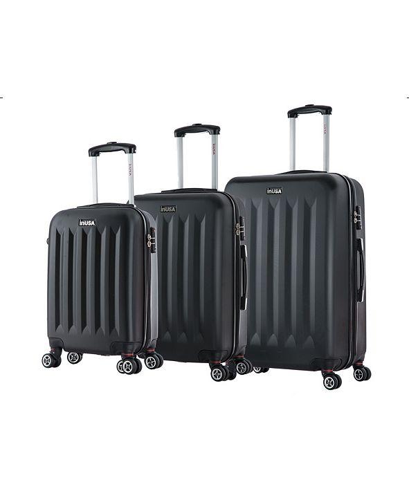 InUSA Philadelphia 3-Pc. Lightweight Hardside Spinner Luggage Set