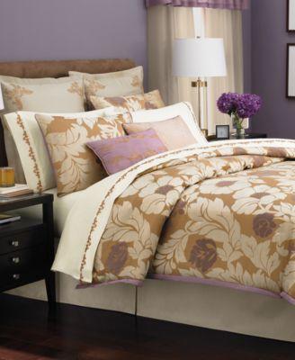 Martha Stewart Collection Bedding, Beaux Arts 24-Piece Queen Comforter Set
