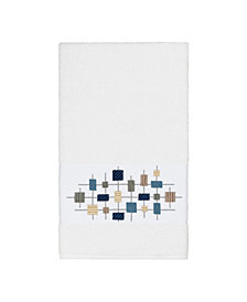 Linum Home Khloe Embroidered Turkish Cotton Bath Towel