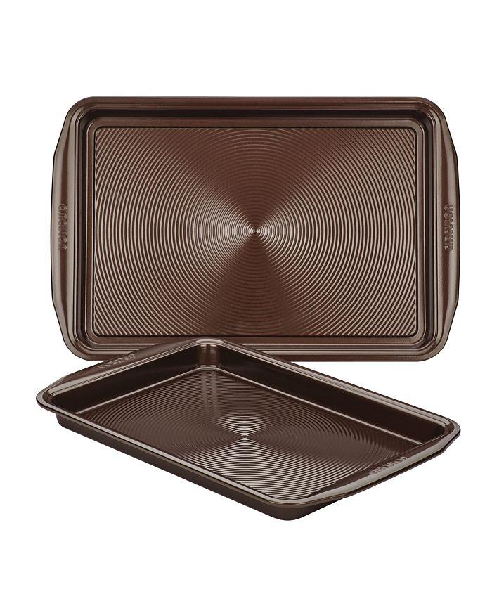 Circulon - Symmetry Chocolate Set of 2 Cookie Sheets