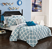Chic Home Jaden 9 Pc Full Quilt Set