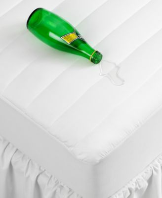 Home Design Waterproof Queen Mattress Pad, Only at Macy's