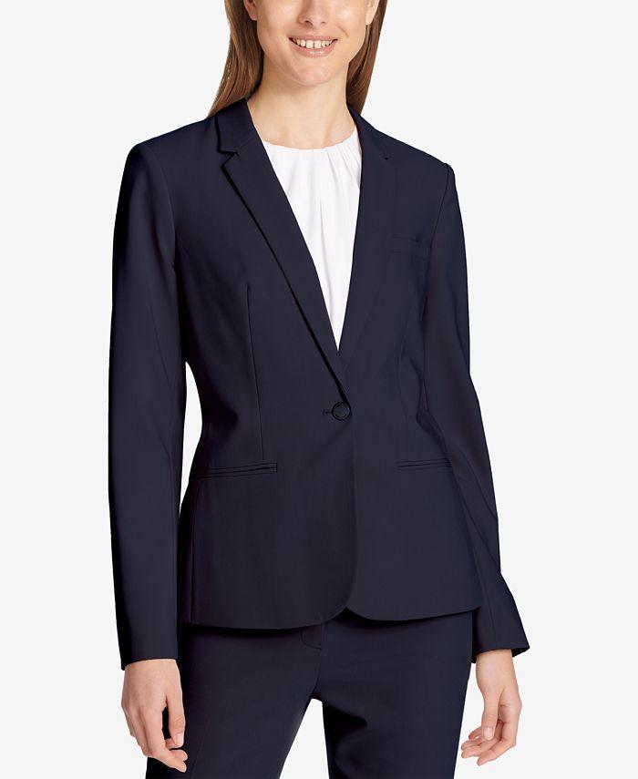 Calvin Klein - One-Button Blazer