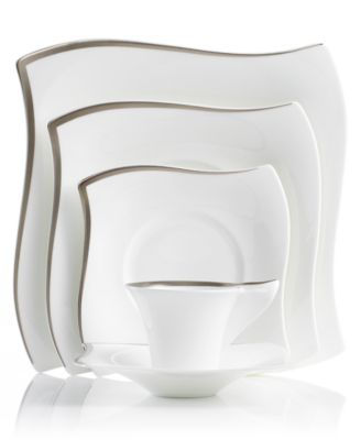 Villeroy & Boch New Wave Premium Platinum 5-Piece Place Setting