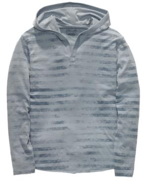 Retrofit Hoodie, Striped Pullover Hoodie