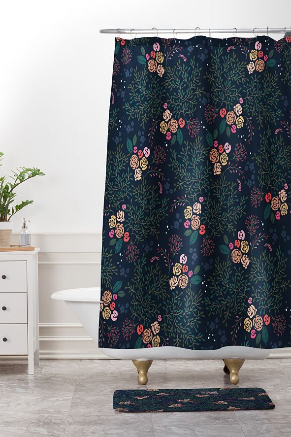 Deny Designs Iveta Abolina Camellia Garden III Bath Mat