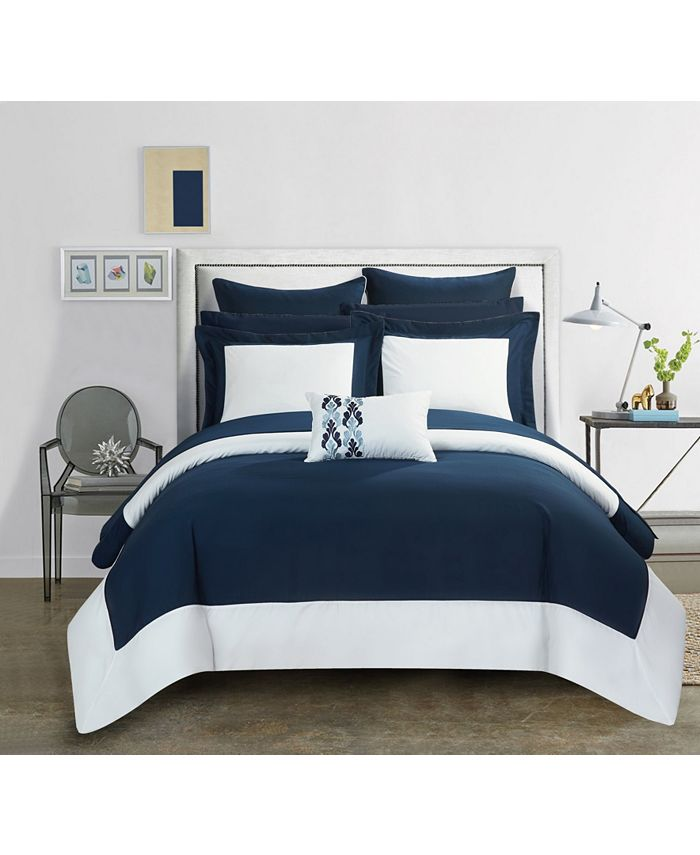 Chic Home - Peninsula 10-Pc. Bed In a Bag Comforter Sets
