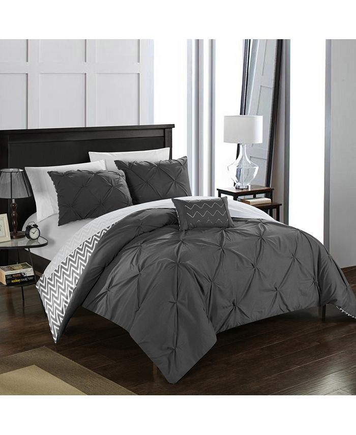 Chic Home - Jacky 4-Pc. Comforter Sets