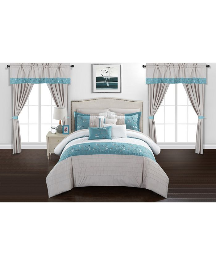 Chic Home - Sonita 20-Pc. Bed In a Bag Comforter Sets