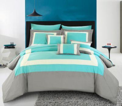 Duke 10-Pc Queen Comforter Set