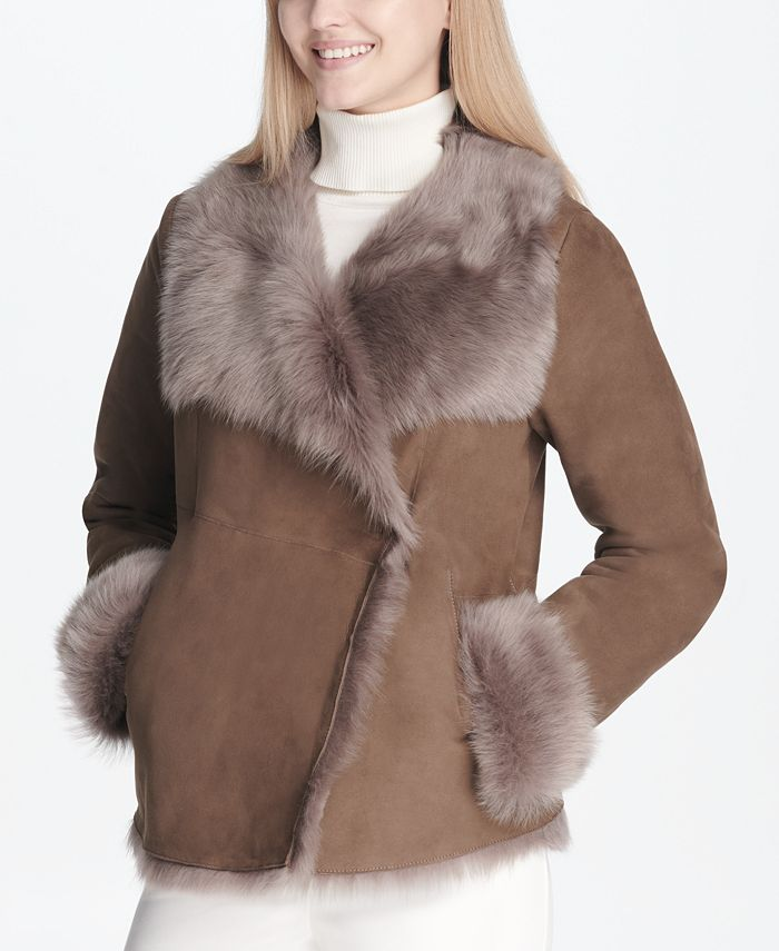 Calvin Klein - Shearling Lamb Jacket
