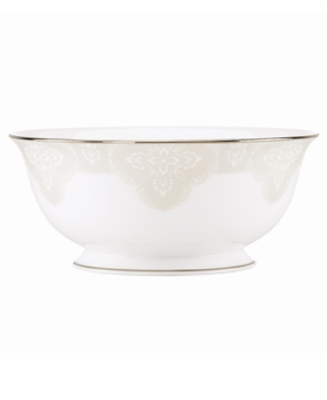 Lenox Dinnerware, Organdy Serving Bowl