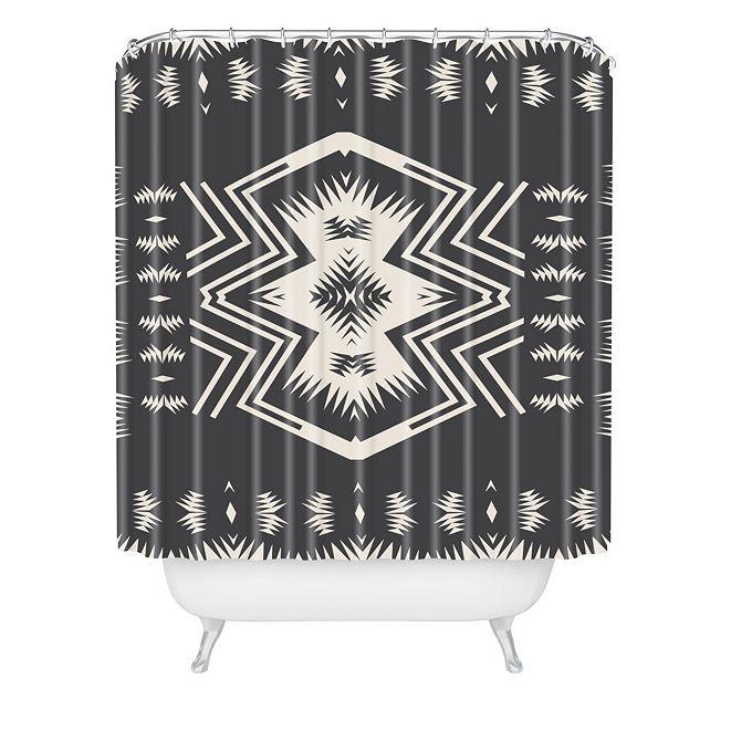 Deny Designs Holli Zollinger Colorado Onyx Shower Curtain