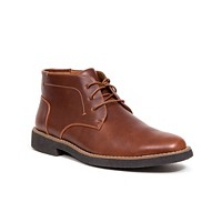 Deals on DEER STAGS Mens Bangor Memory Foam Chukka Boot