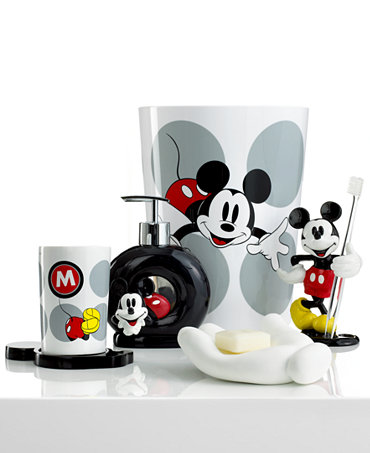 Disney bath accessories disney mickey mouse collection bathroom accessories bed bath macy 39 s - Mickey mouse bathroom accessories ...