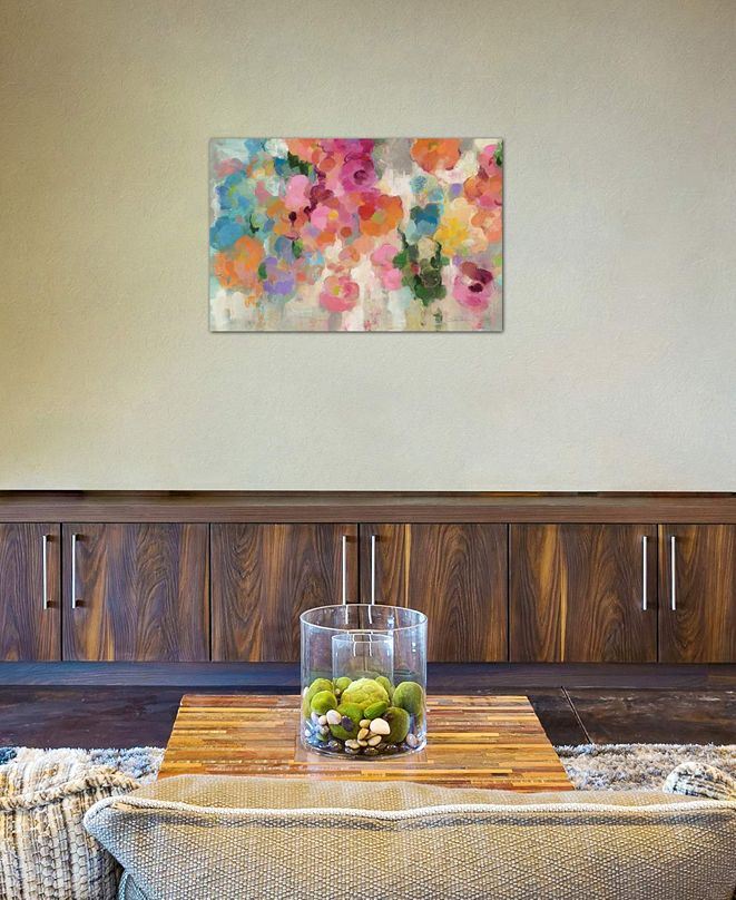 "iCanvas ""Colorful Garden I"" by Silvia Vassileva Gallery-Wrapped Canvas Print (26 x 40 x 0.75)"