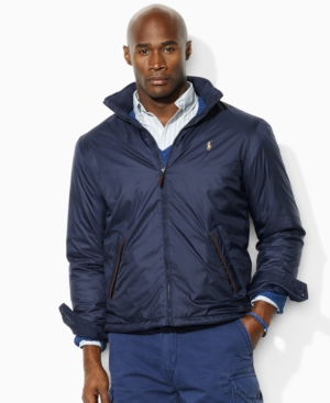 Polo Ralph Lauren Big and Tall Jacket, Stratford Windbreaker