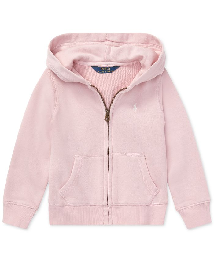 Polo Ralph Lauren - Toddler Girls French Terry Hoodie