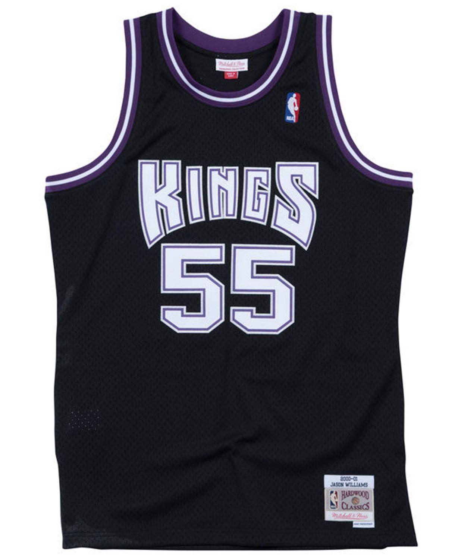 Mitchell & Ness Men's Jason Williams Sacramento Kings Hardwood Classic Swingman Jersey & Reviews - Sports Fan Shop By Lids - Men - Macy's