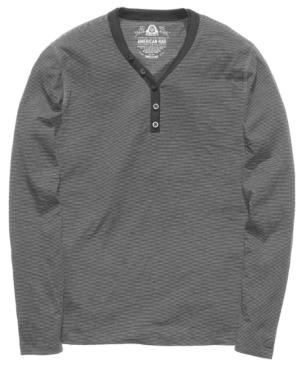 American Rag Shirt, Basic Feeder Long Sleeve Shirt