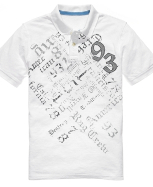 American Rag Shirt, Varsity Field Polo Shirt