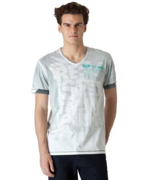 Calvin Klein Jeans T Shirt, Revised V Neck Tee