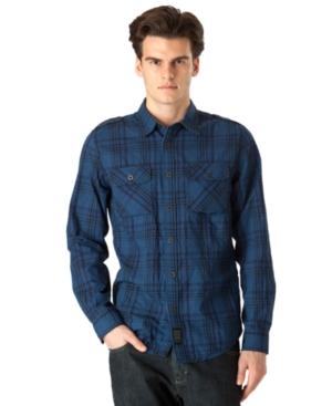 Calvin Klein Jeans Shirt, Saturated Plaid