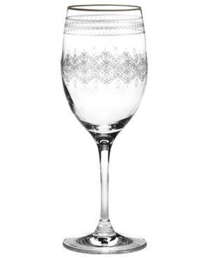 Closeout! Mikasa Wine Glass, Platinum Jewel