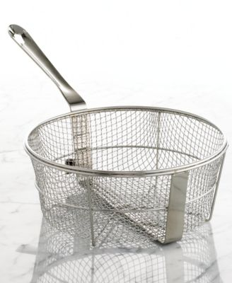 All-Clad Stainless Steel 6 Qt. Fry Basket