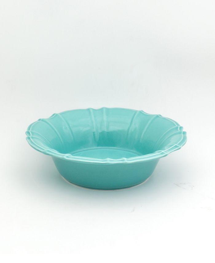 Euro Ceramica - CHLOE PASTA BOWL IN TURQUOISE