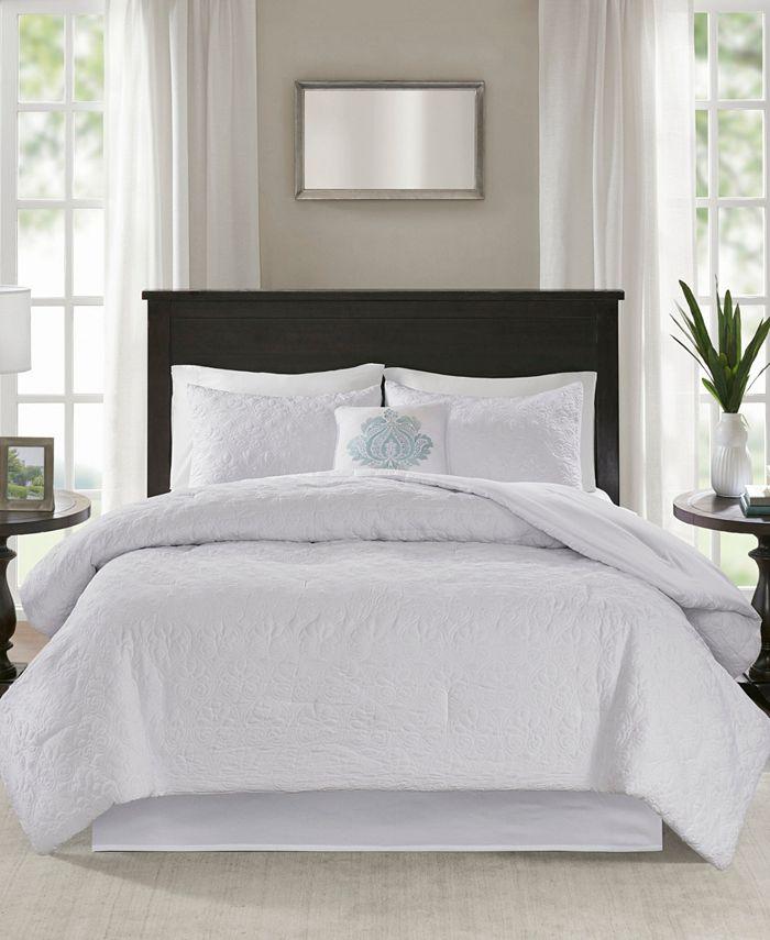 Madison Park - Quebec 5-Pc Cal King Comforter Set