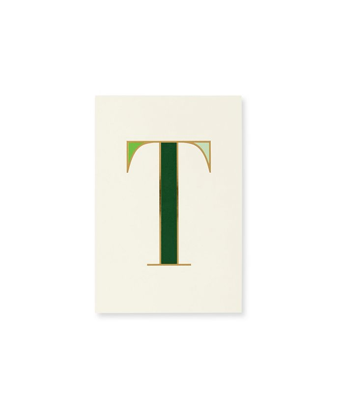 Kate Spade - KSNY It's Personal Initial Collection Notepad T