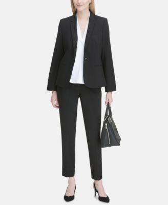 Highline Skinny Cropped Dress Pant