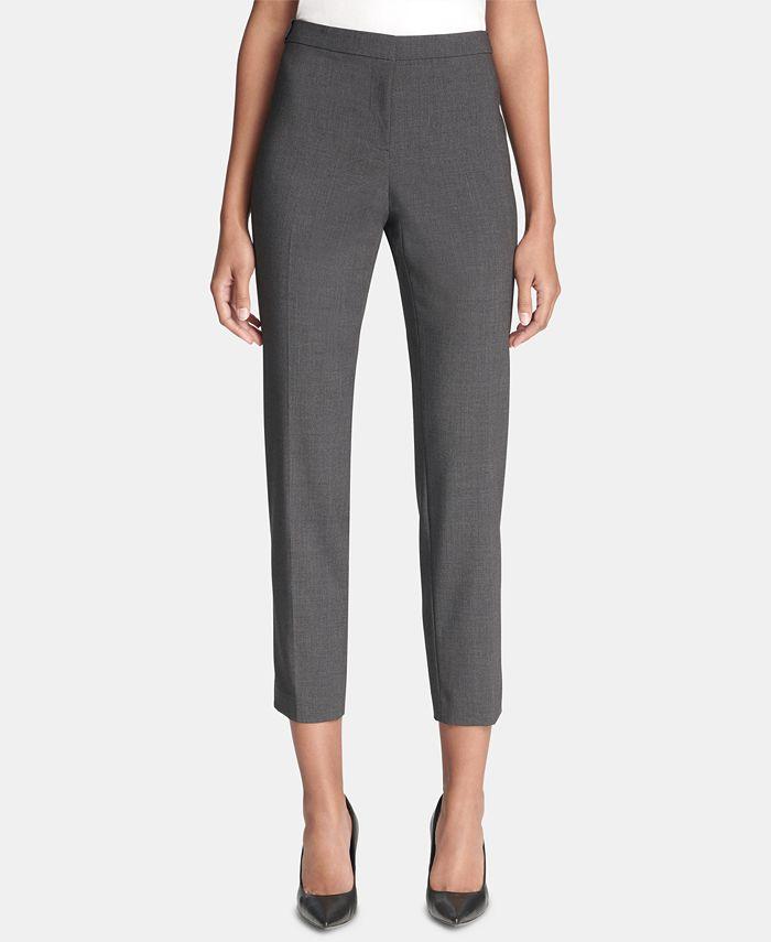 Calvin Klein - Straight-Leg Pants