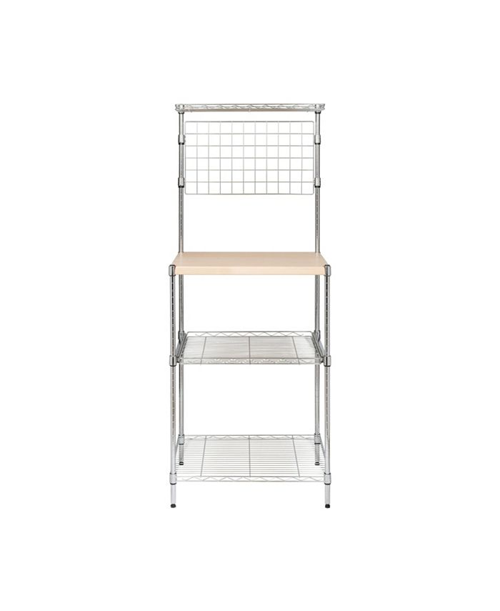 Honey Can Do - Microwave Shelving Unit with Shelves