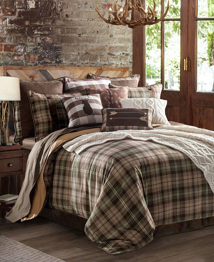 HiEnd Accents - Huntsman Comforter Set, Full