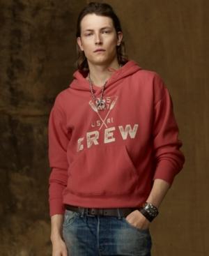 Denim & Supply Ralph Lauren Hoodie, Shawl Collar Pullover