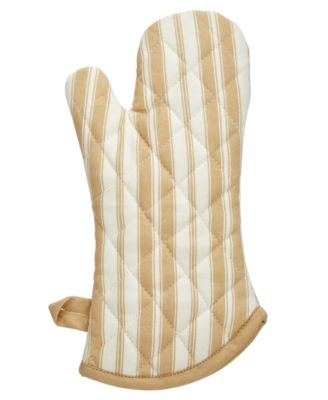 Martha Stewart Collection Oven Mitt, Stripes Print