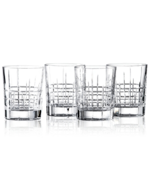 Lauren Ralph Lauren Drinkware, Set of 4 Cocktail Party Double Old Fashioned Glasses