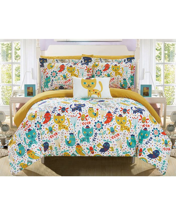 Chic Home - Flopsy 8-Pc. Bed In a Bag Comforter Sets