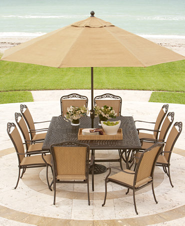 ... Outdoor Patio Furniture Dining Sets & Pieces - Furniture - Macys