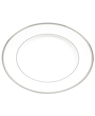 Vera Wang Wedgwood Dinnerware, Grosgrain Medium Oval Platter