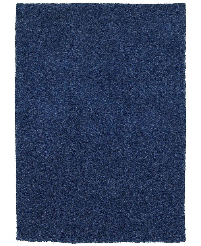 Oriental Weavers - Heavenly Shag 73408 Blue/Blue 3' x 5' Area Rug